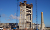 Preheat Tower, Blending Silos, Clinker Silos, Fly Ash Silos